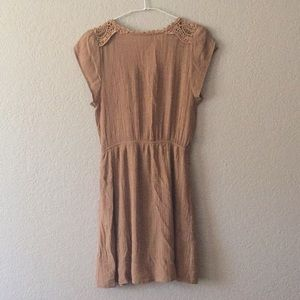 Dresses - Nude color dress